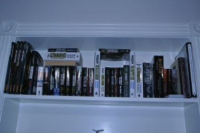 and almost all of his books are about Warhammer 40k
